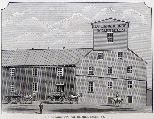 J.C. Langhorne Mill, Salem, Virginia
